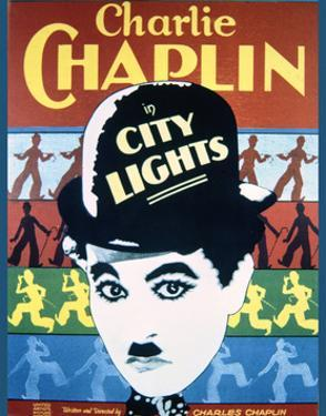 City Lights - Movie Poster Reproduction