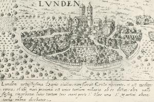 City of Lund, Which Belonged to Denmark in Middle Ages