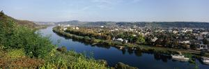City of Trier Along the Mosel River, Rhineland-Palatinate, Germany