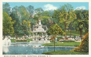 City Park, Saratoga Springs, New York