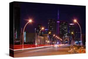 City Road Leading to CN Tower