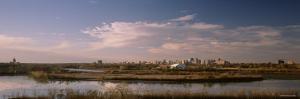 City Seen from Wascana Hill, Regina, Saskatchewan, Canada