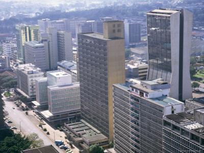 City Skyline, Nairobi, Kenya, East Africa, Africa by I Vanderharst