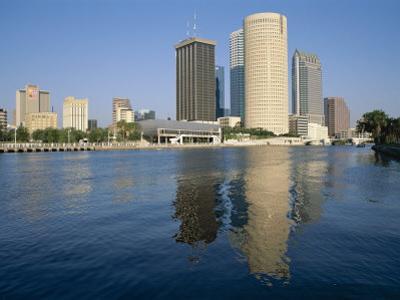 City Skyline, Tampa, Gulf Coast, Florida, USA