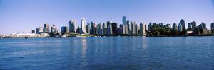 City Skyline, Vancouver, British Columbia, Canada 2013