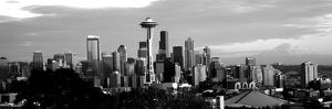 City Viewed from Queen Anne Hill, Space Needle, Seattle, King County, Washington State, USA