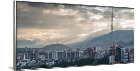 Cityscape, Quito, Ecuador, South America-Alexandre Rotenberg-Framed Photographic Print