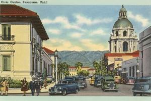 Civic Center, Pasadena, California