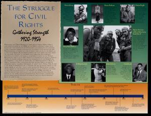 Civil Rights 1920 - 1954