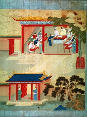 Civil Service Exam Under Emperor Jen Tsung from a History of Chinese Emperors