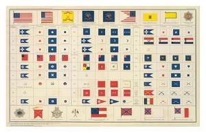 Civil War: Flags, Badges, c.1895