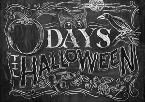 Days 'til Halloween by CJ Hughes