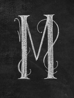 M Curly Chalk Capital by CJ Hughes