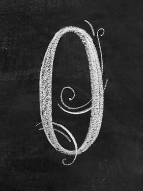 O Curly Chalk Capital by CJ Hughes