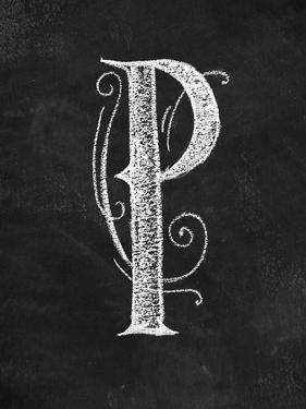 P Curly Chalk Capital by CJ Hughes