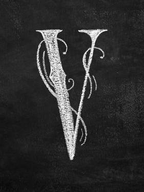 V Curly Chalk Capital by CJ Hughes