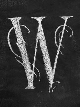 W Curly Chalk Capital by CJ Hughes