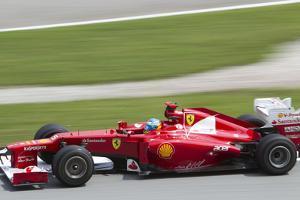 Fernando Alonso Exits Turn 15 by cjmac