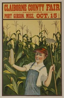 Claiborne County Fair, American Advertising Poster