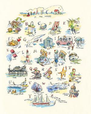 ABC of The Seaside by Claire Fletcher