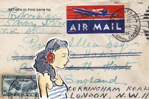Carte Postal IV by Claire Fletcher