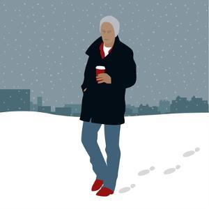 Coffee in the Snow by Claire Huntley