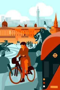 Trafalgar Square by Claire Huntley