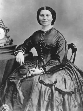 Clara Barton (1821-191), Founder of the American Branch of the Red Cross