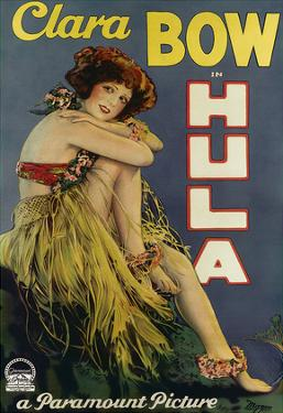 Clara Bow Hula, Paramount Picture c.1927