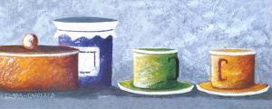 Pots II by Clara Carreres