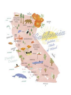 American State - Cali by Clara Wells