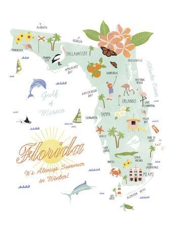 American State - Florida by Clara Wells