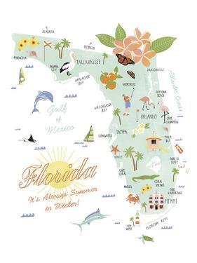 American State - Florida by Clara Wells
