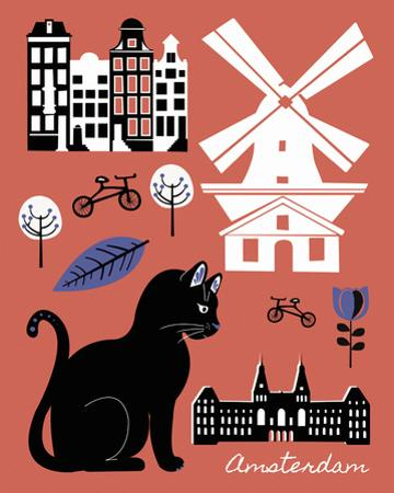 City Greetings V by Clara Wells