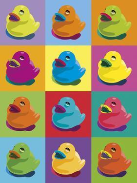 Ducks in Colour by Clara Wells