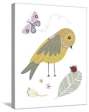 Hello Friends - Bird by Clara Wells