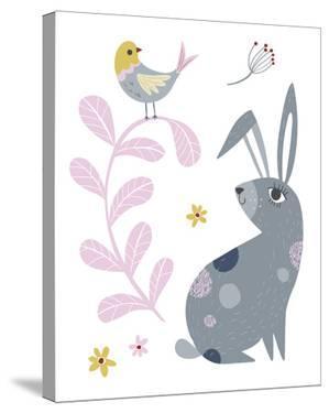 Hello Friends - Bunny by Clara Wells