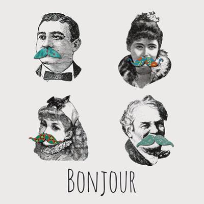 La Moustache II by Clara Wells
