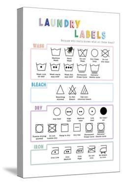 Laundry Labels by Clara Wells