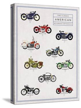 Motorbike Cartography - Rush by Clara Wells