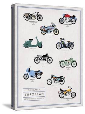 Motorbike Cartography - Speed by Clara Wells
