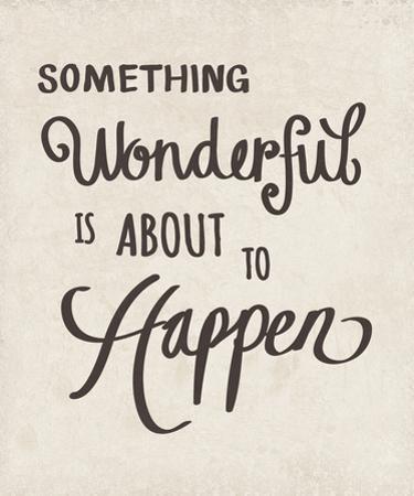 Something Wonderful by Clara Wells