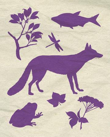 Woodland Creatures I by Clara Wells