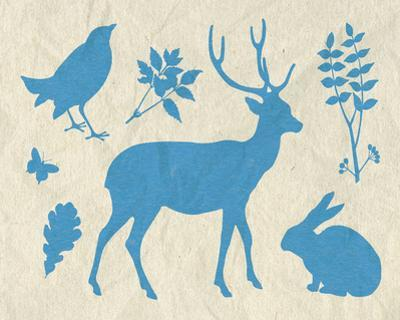Woodland Creatures IV by Clara Wells