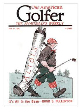 The American Golfer July 24, 1920 by Clare Briggs
