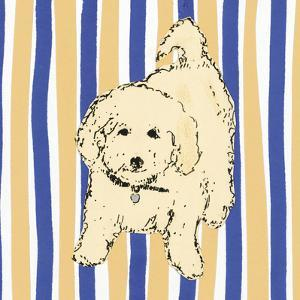 Boho Dogs VII by Clare Ormerod