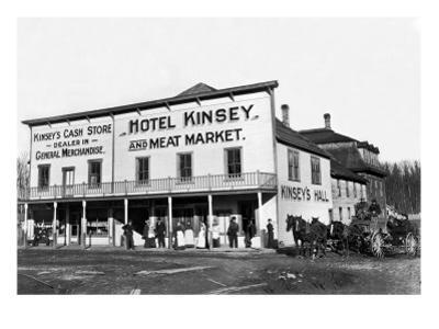 Hotel Kinsey and Meat Market