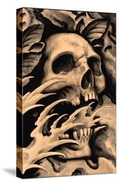 Screaming Skull by Clark North