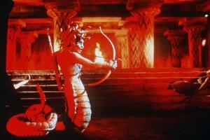 CLASH OF THE TITANS, 1981 directed by DESMOND DAVIS Medusa (photo)