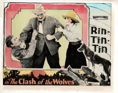 Clash of the Wolves, Charles Farrell, Pat Hartigan, June Marlowe, Rin Tin Tin, 1925